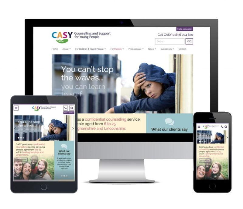 counsellor web design casy newark