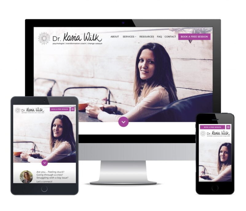 counsellor web design dr kasia wilk
