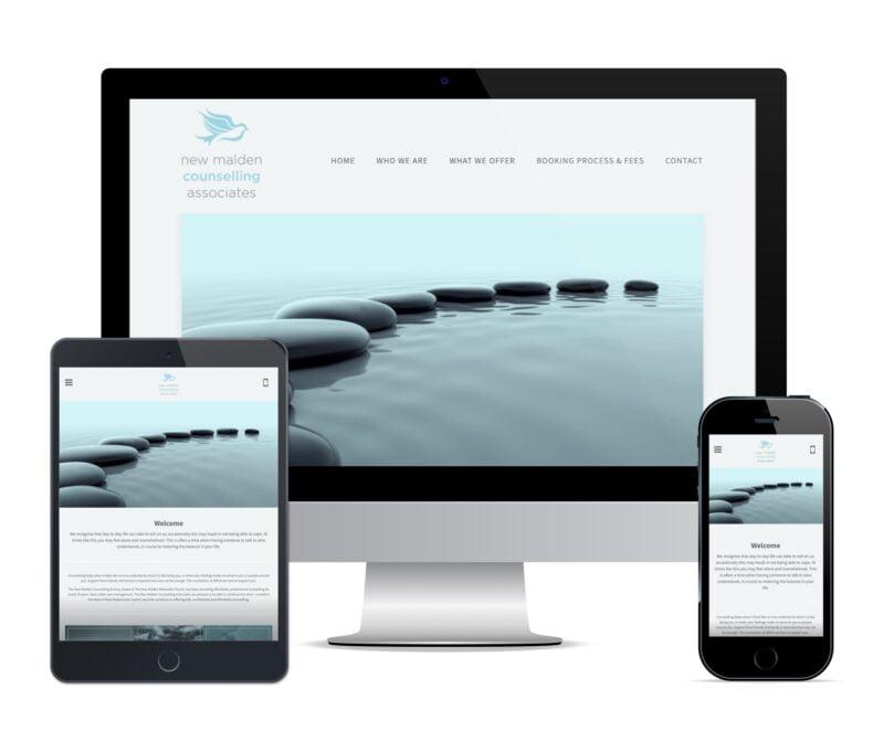 counsellor web design new malden